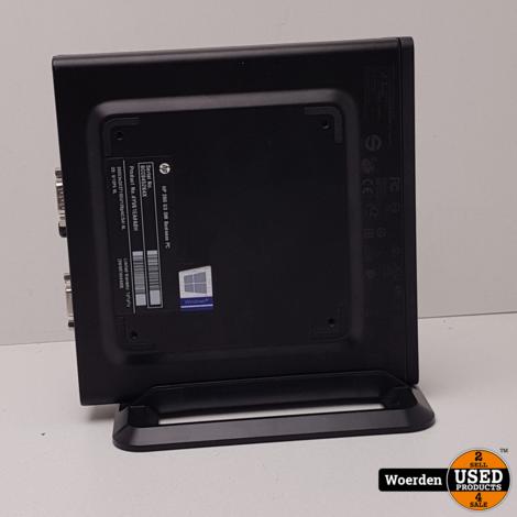 HP 260 G3 Mini i3 4GB RAM 128GB SSD met Garantie