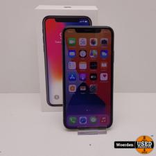 iPhone X 64GB Space Gray in Nette Staat met Garantie