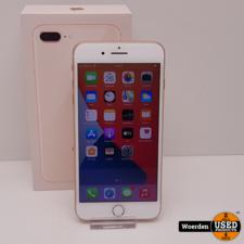 iPhone 8 Plus 64GB Roze NIEUWE ACCU met Garantie