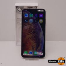 iPhone XS Max 256GB Goud Accu 92 Nette Staat met Garantie