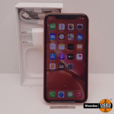 iPhone XR 64GB Oranje NIEUWE ACCU met Garantie