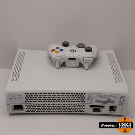 Xbox 360 Wit in Nette Staat met Garantie