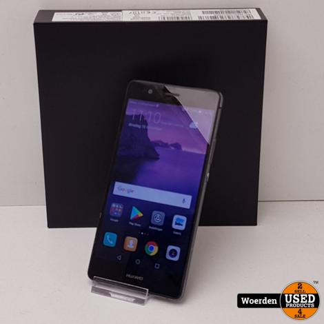Huawei P9 Lite Zwart in Doos met Garantie