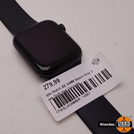 Apple Watch SE 44MM Space Gray 2 Week OUD met Garantie