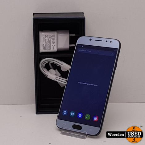 Samsung Galaxy J7 2017 Zwart Nette Staat met Garantie