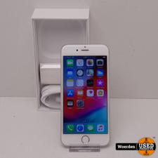 iPhone 6 16GB Zilver in Nette Staat met Garantie