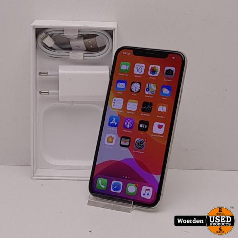 iPhone X 64GB Wit in Nette Staat met Garantie