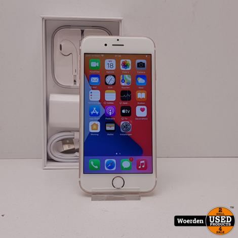 iPhone 6S Rosegold 128GB in Nette Staat met Garantie