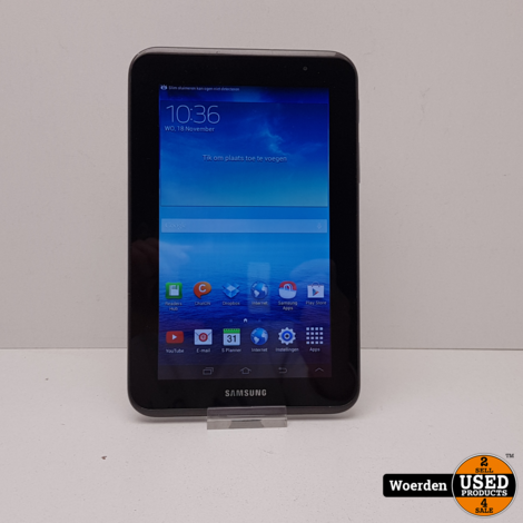 Samsung Galaxy Tab 2 7Inch Zwart in Nette Staat met Garantie