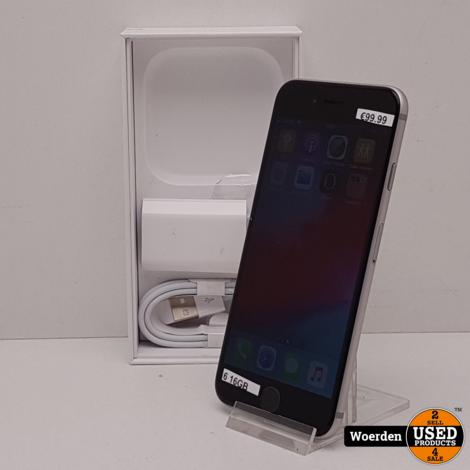 iPhone 6 16GB Zwart in Nette Staat met Garantie