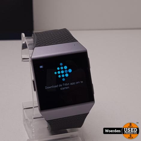 Fitbit Ionic ZGAN in Doos met Garantie