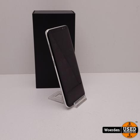 Samsung Galaxy S8 64GB Zilver Nette Staat met Garantie