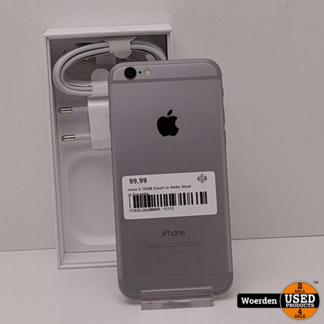 iPhone 6 16GB Space Gray in Nette Staat met Garantie