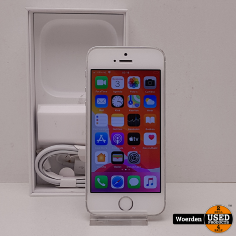 Iphone SE 32GB Wit in Nette Staat met Garantie