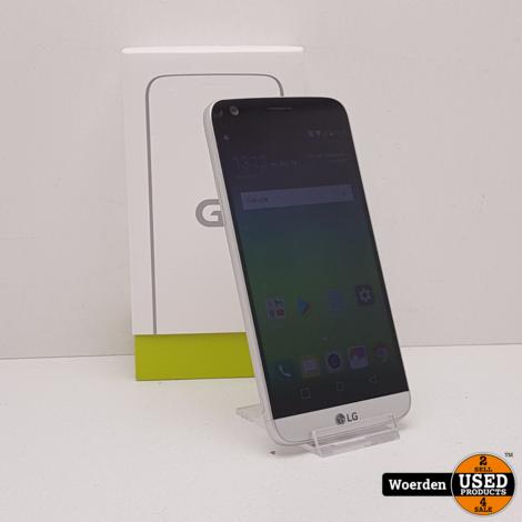 LG G5 32GB Zilver Nette Staat met Garantie