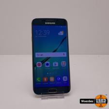 Samsung Galaxy S6 Edge Groen Nette Staat met Garantie