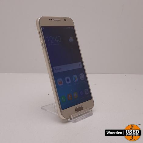 Samsung Galaxy S6 32GB Goud Nette Staat met Garantie