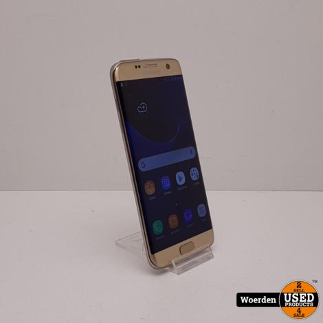 Samsung Galaxy S7 Edge Goud in Nette Staat met Garantie