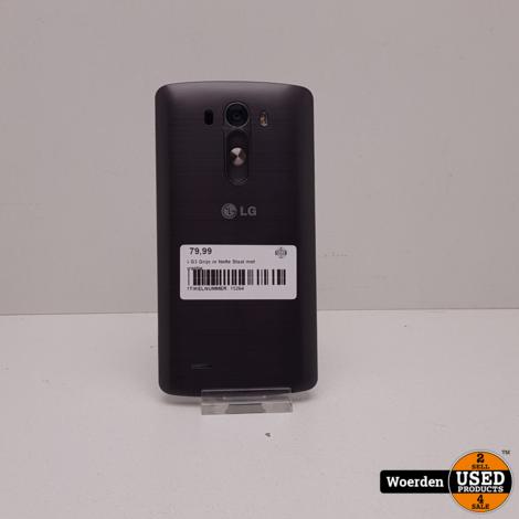 LG G3 Grijs in Nette Staat met Garantie