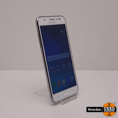 Samsung J5 Wit in Nette Staat met Garantie