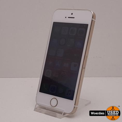 iPhone 5S 16GB Wit met Garantie