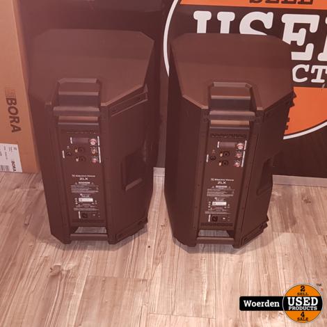 2 x  Electro-Voice ZLX-12P actieve ZGAN met Garantie