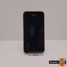 iPhone 4S 32GB Zwart in Nette Staat met Garantie