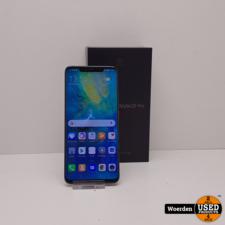 Huawei Mate 20 Pro 128GB Zwart In Nette Staat Met Garantie