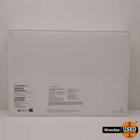Macbook Pro 2020 13 Touch i5 2.0Ghz|16GB|1TB SSD NIEUW in Seal