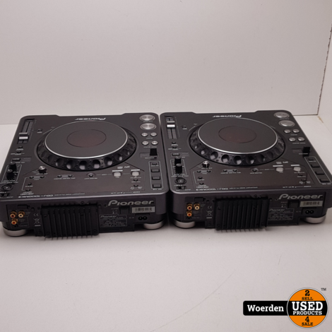 2x Pioneer CDJ-1000MK3 + DJM-750 in Flightcase met Garantie