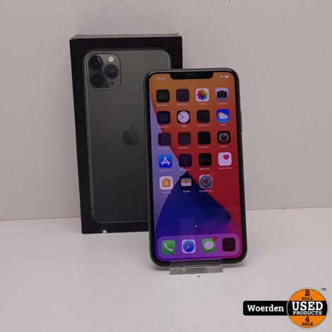 iPhone 11 Pro Max 256GB Space Gray Accu 96 met Garantie