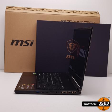 MsI GS65 Stealth i7 2.6Ghz|16GB|512GB 5 Maand Oud + BON