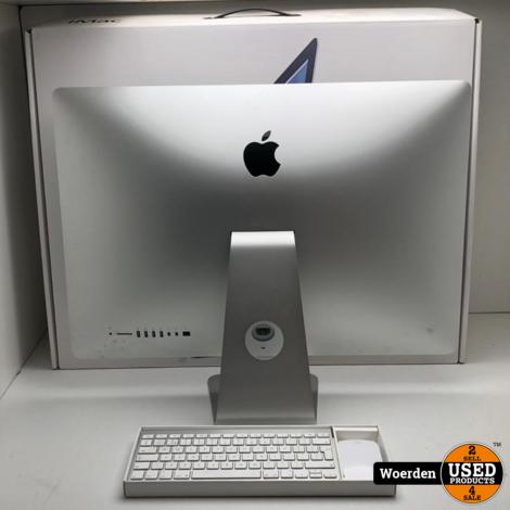 iMac 27 inch 2012 i5 2.9Ghz 8GB 1TB in Doos met Garantie