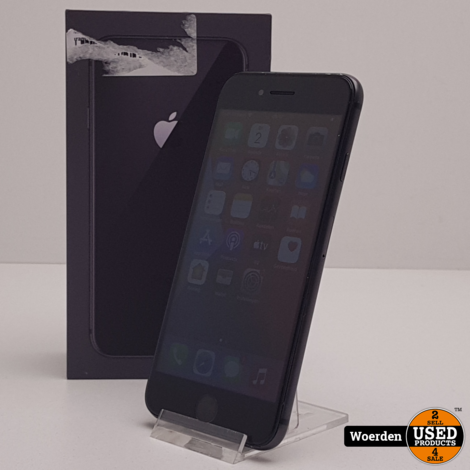 iPhone 8 64GB Space Gray Nette Staat met Garantie