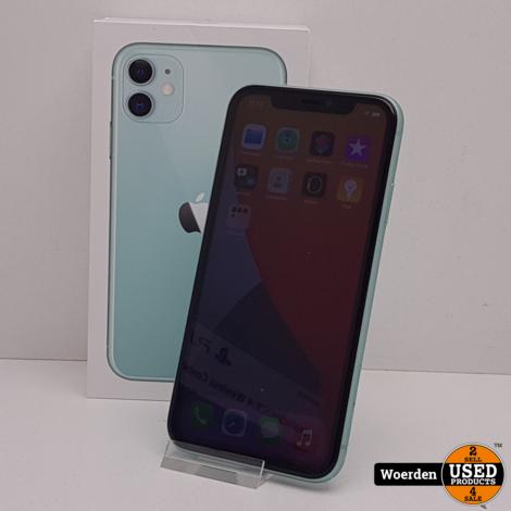 iPhone 11 64GB Groen in Nette Staat met Garantie