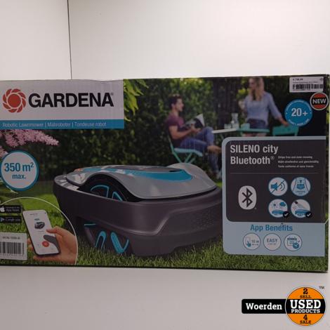 Gardena Robotmaaier Smart Sileno City 350 NIEUW in DOOS met Garantie