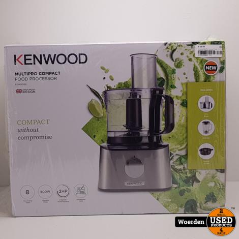 Kenwood MultiPro Compact FoodProcessor FDM301 NIEUW + Garantie
