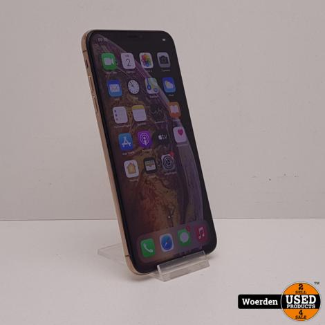 iPhone XS Max 64GB Goud Nette Staat met Garantie