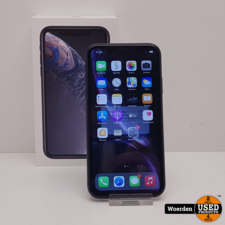 iPhone XR 64GB Zwart Accu 91 Nette Staat met Garantie