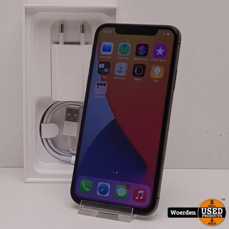 iPhone X 64GB Space Gray  NIEUWE ACCU met Garantie