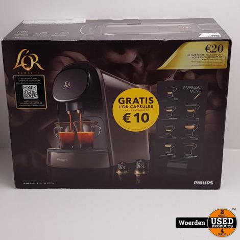 Philips L'OR Barista LM8012/60 Zwart NIEUW met Garantie