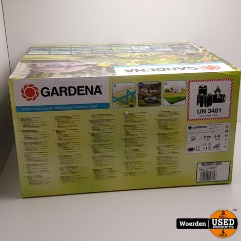 Gardena Sileno City 470 Robotmaaier NIEUW in Doos met Garantie