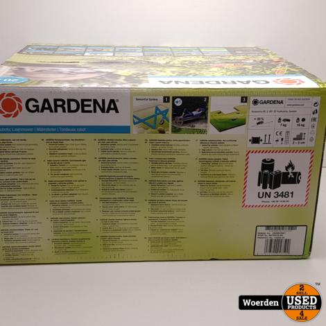 Gardena robotmaaier Sileno City 550 NIEUW in Doos met Garantie