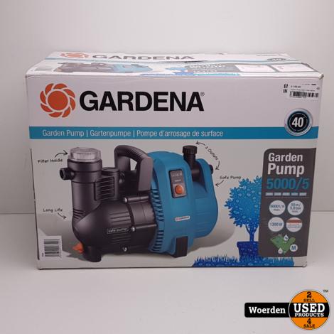 Gardena Pump 5000/5 1300w NIEUW in Doos met Garantie
