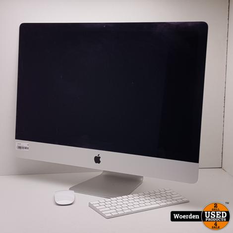 iMac Late 2013 27 inch i5 3.2Ghz|8GB|1TB in Doos met Garantie