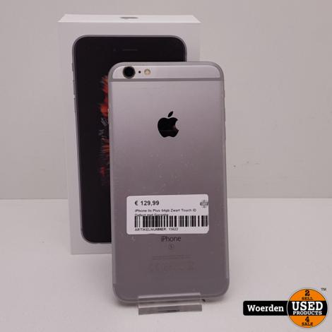 iPhone 6s Plus 64gb Zwart Touch ID Defect met Garantie