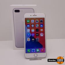 IPhone 7 Plus 32GB Zilver NIEUWE ACCU met Garantie