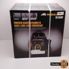 McCulloch GB 355BP benzine rugbladblazer NIEUW in Doos
