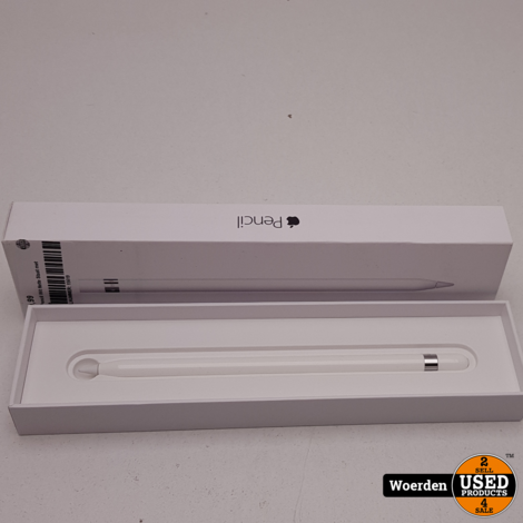 Apple Pencil Wit Nette Staat met Garantie