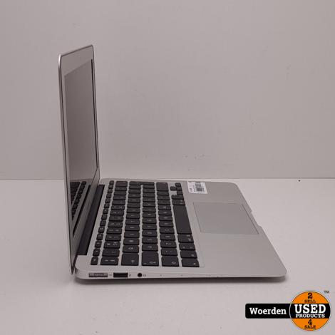 Macbook Air 2015 11 inch i5 1.6Ghz|4GB|128GBSSD met Garantie
